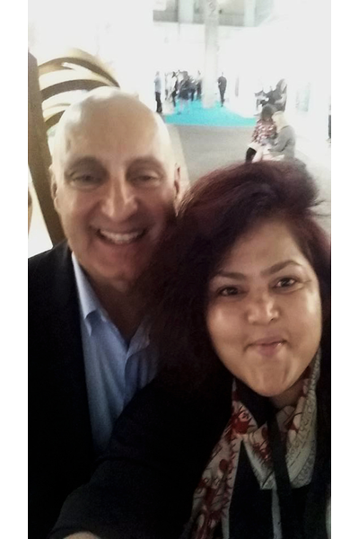 Selfie with Tony Karman . We are in this together. EXPO, Chicago, 2016.