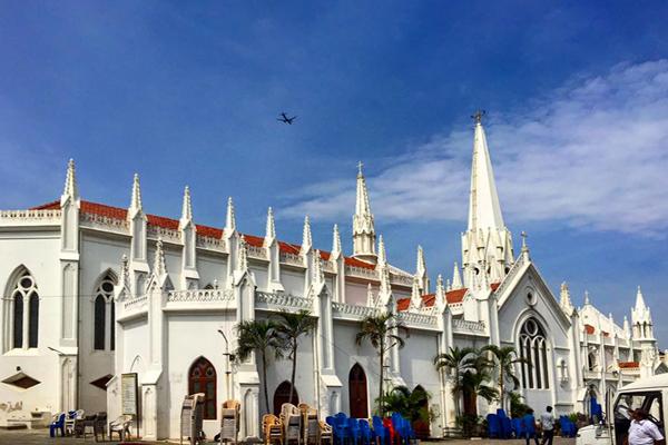 San Thom Bascilica / Chennai, Tamil Nadu.
