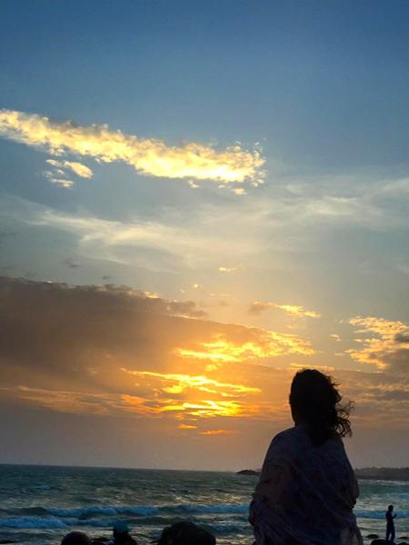 Sunset Point / Kanyakumari, Tamil Nadu / Image Courtesy Tanvi Sinha