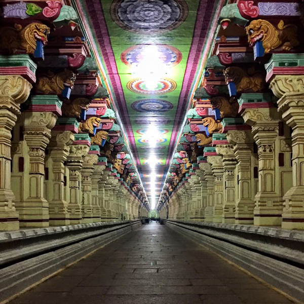 Ramanathaswamy Temple, Tamil Nadu / Image courtesy Tanvi Sinha