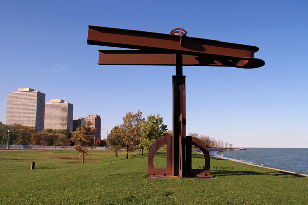 Destino - by Mark di Suvero