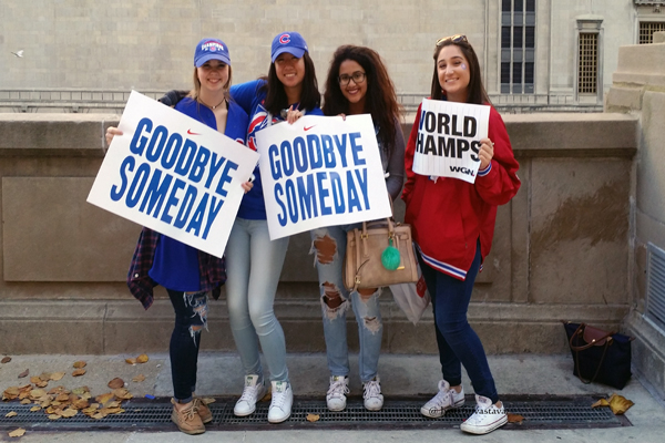 Goodbye Someday / Cubs 2016 World Series Parade Day