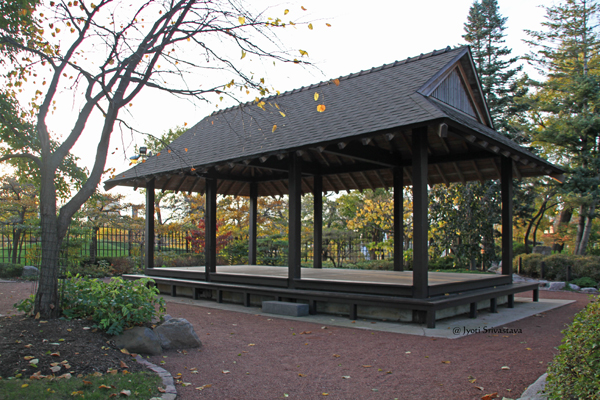 The Pavilion /  Garden of Phoenix,  Jackson Park, Chicago.