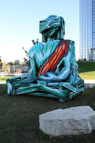 Urban Buddha - by Tashi Norbu