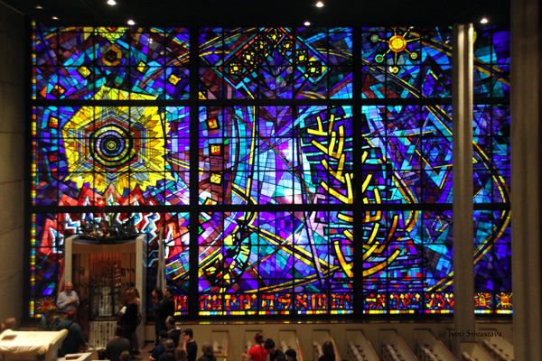 Let There be Light - by Abraham Rattner / Chicago Loop Synagogue