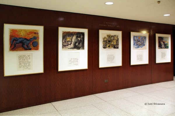 Lithographs by Abraham Rattner / Chicago Loop Synagogue