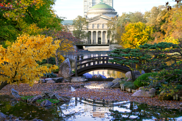 Moon Bridge /  Garden of Phoenix, Jackson Park, Chicago.
