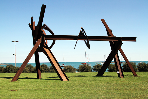 Magma - by Mark di Suvero