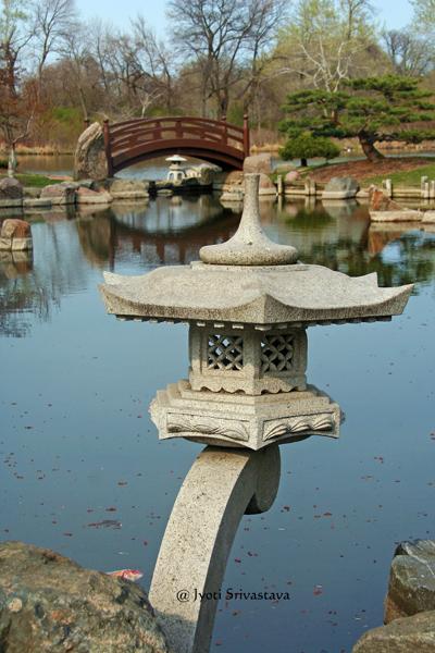 Rankei Lantern / Garden of Phoenix, Jackson Park, Chicago.