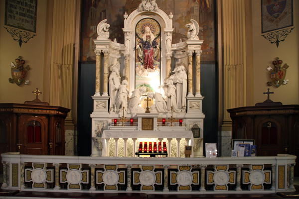 6. To The East. The Seven Holy Founders Altar /  Our Lady of Sorrows Basilica, Chicago.