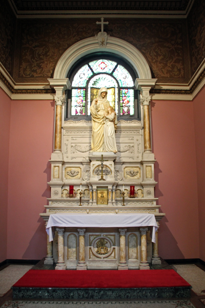 "St. Therese of Lisieux Chapel. ""The Little Flower"" Chapel / Our Lady of Sorrows Basilica, Chicago."