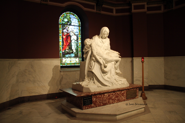 The Pieta Chapel / Our Lady of Sorrows Basilica, Chicago.