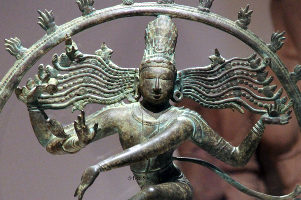 Shiva Nataraja, the Lord of the Dance.