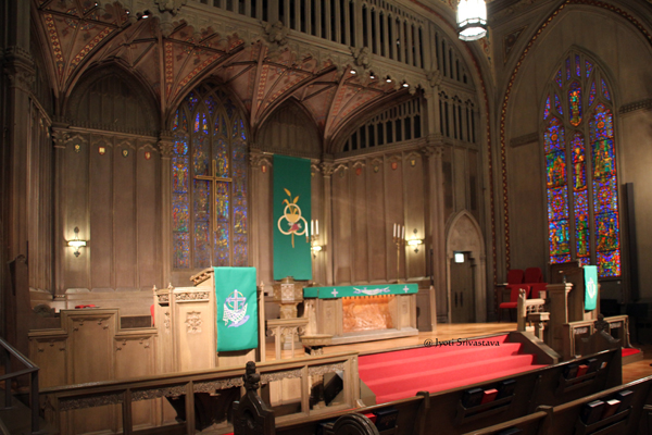 Main altar / First United Methodist Church at the Chicago Temple