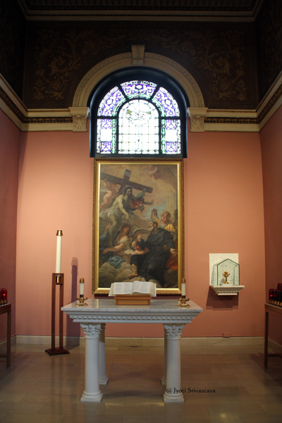 8. St. Peregrine Laziosi Shrine and Chapel / Our Lady of Sorrows Basilica, Chicago.