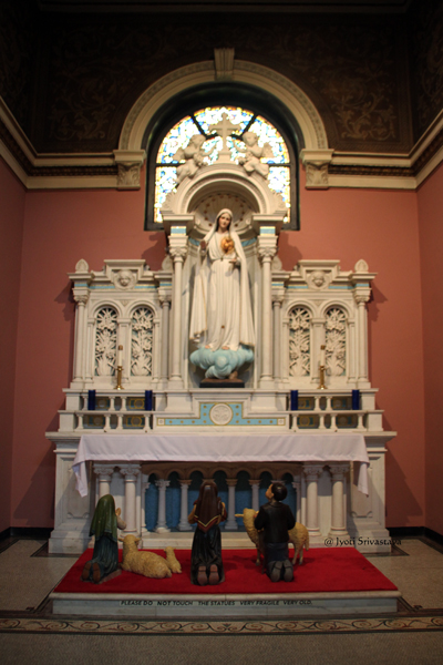 Our Lady of Fatima Chapel / Our Lady of Sorrows Basilica, Chicago.