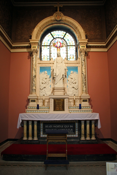 The Purgatorial Altar Chapel / Our Lady of Sorrows Basilica, Chicago.