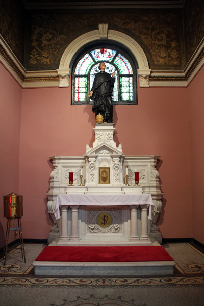 13. St. Philip Benizi, O.S.M.Chapel / Our Lady of Sorrows Basilica, Chicago.