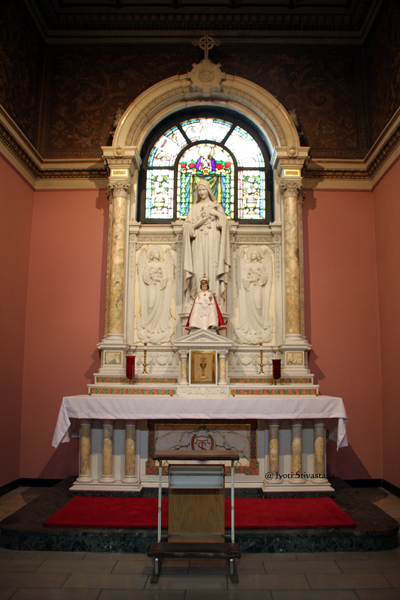 14. St. Anne, Mother of Mary Chapel / Our Lady of Sorrows Basilica, Chicago.