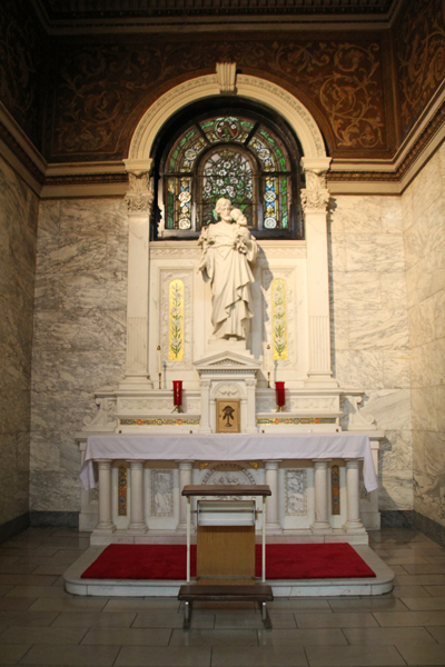 16. St Joseph, Father of Jesus Chapel / Our Lady of Sorrows Basilica, Chicago