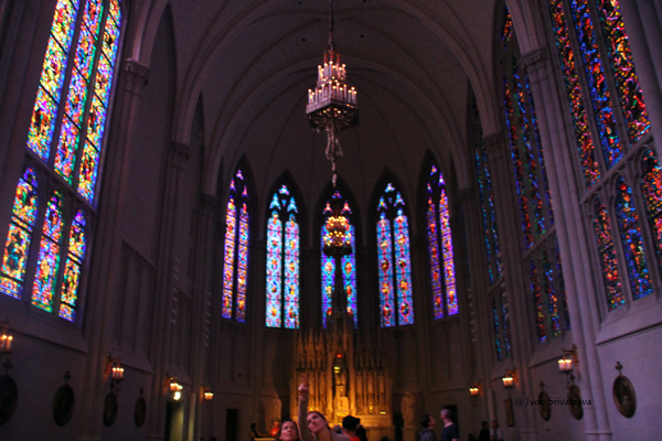 Saint James Chapel at the Archbishop Quigley Center, Chicago.