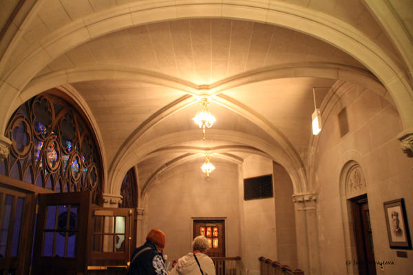 Saint James Chapel at the Archbishop Quigley Center .