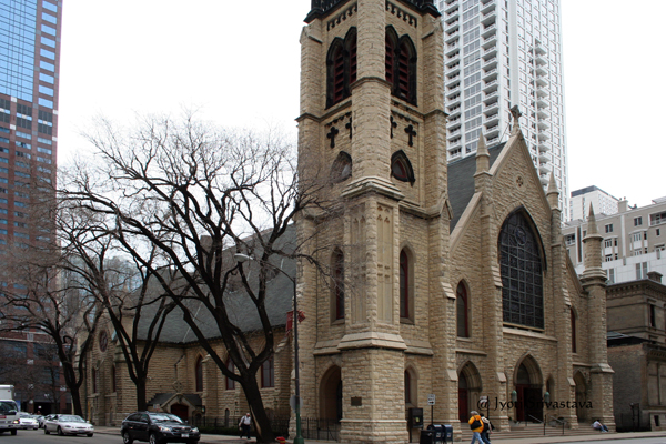 St. James Episcopal Cathedral, Chicago.