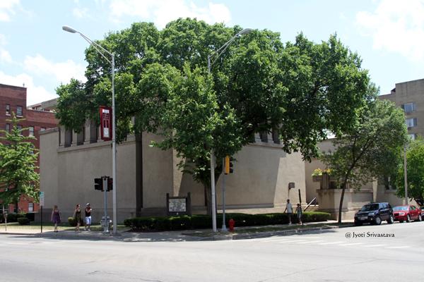 Unity Temple/ Oak Park.