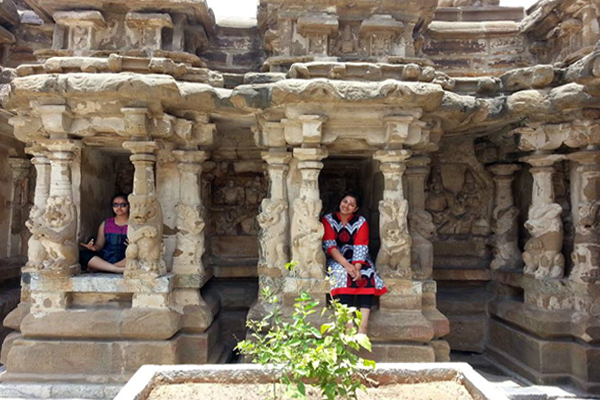 Kanchi Kailasanathar Temple.