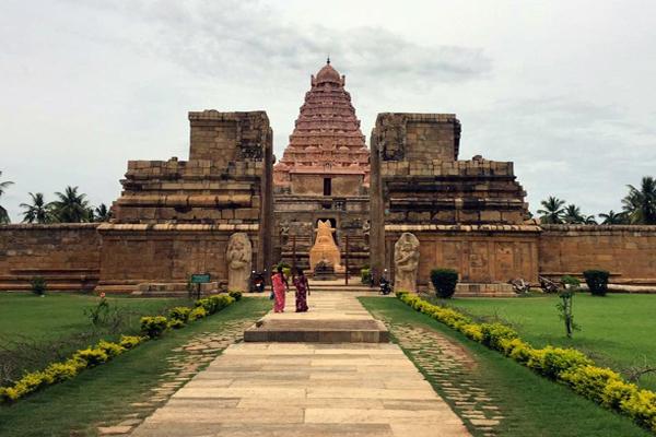 Brihadeeswara temple at Gangaikondacholapuram