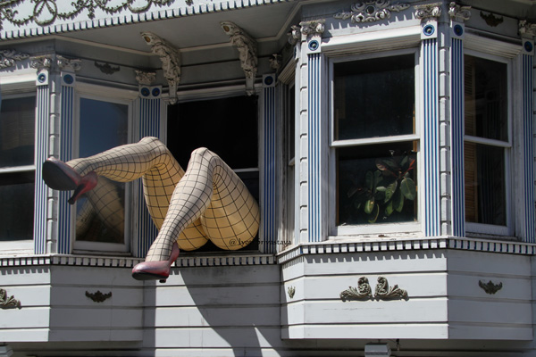 Haight-Ashbury district, San Francisco.