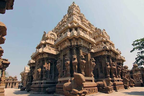 Kanchi Kailasanathar Temple/ Kanchipuram, Tamil Nadu
