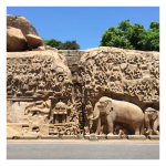 Group of monuments at Mahabalipuram, Tamil Nadu