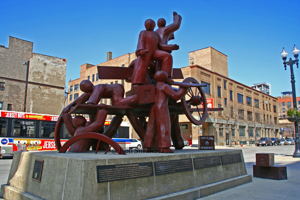 Haymarket Memorial - by Mary Brogger