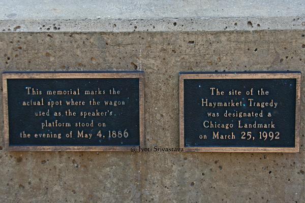 Haymarket Memorial - by Mary Brogger