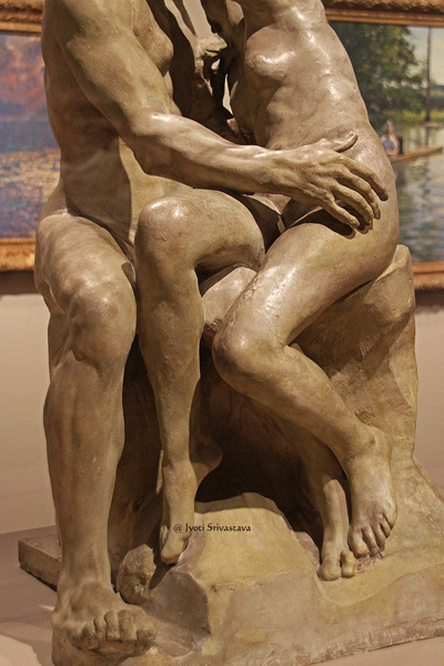 The Kiss - By Auguste Rodin / Milwaukee Art Museum