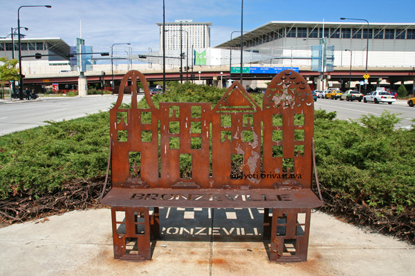 Walk Around the Block - by: Apache Wakefield / Bronzeville Benches