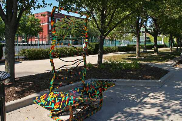 King Potolo - by Kymberli Johnson / Bronzeville Benches