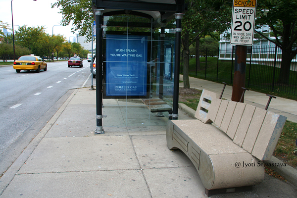 Guitar - by Oswald Martin / Bronzeville Benches