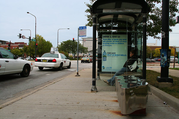 Body - by Maureen Blossfeld / Bronzeville Benches