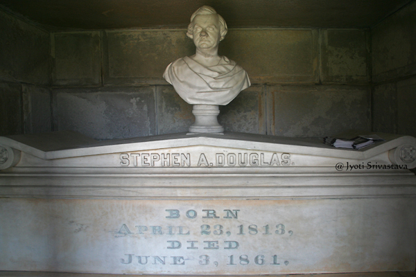 Tomb of Stephen A. Douglas