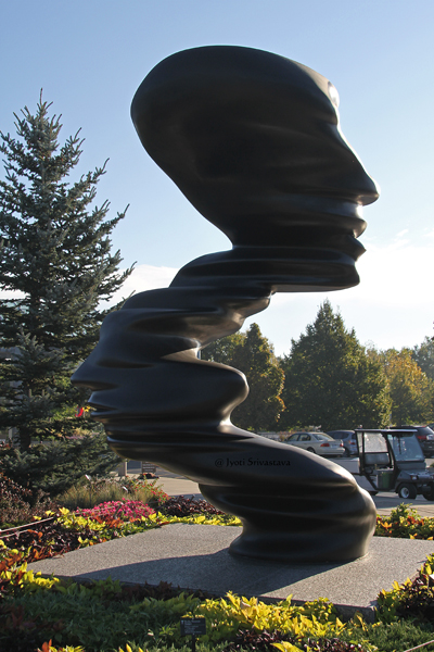 Bend of Mind - by Tony Cragg