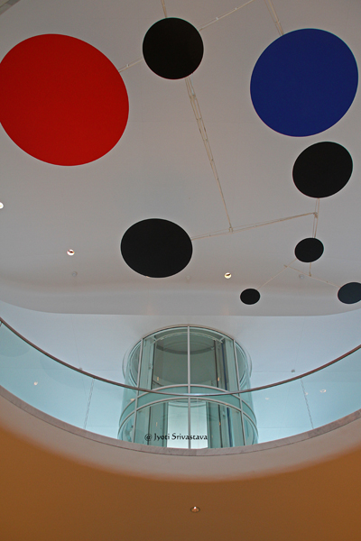 Red, Black, and Blue [Mobile sculpture] – by Alexander Calder