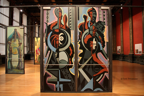 Eugene Eda's Doors for Malcolm X College