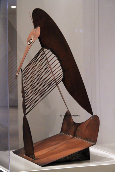 Picasso gifted the maquette to the Art Institute of Chicago.
