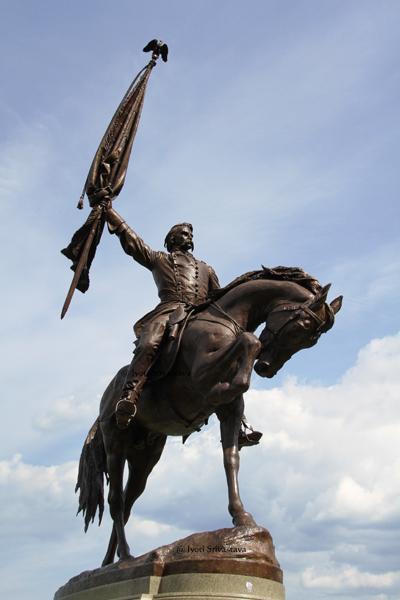 General John Logan Memorial - by Auguste Saint-Gaudens and Alexander Phimster Proctor.