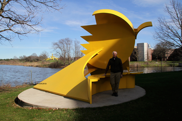 Geoffrey Bates, Curator and Director of Nathan Manilow Sculpture Park