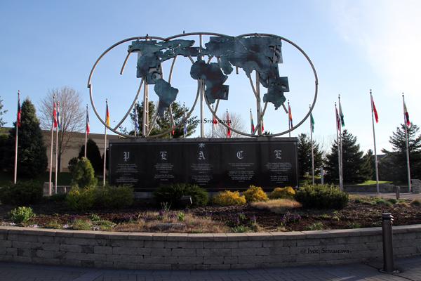 Keeling-Puri Peace Plaza, Rockford