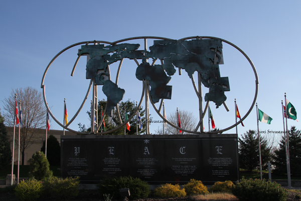 Harmony Atlas - by Lee Sido / Keeling-Puri Peace Plaza, Rockford