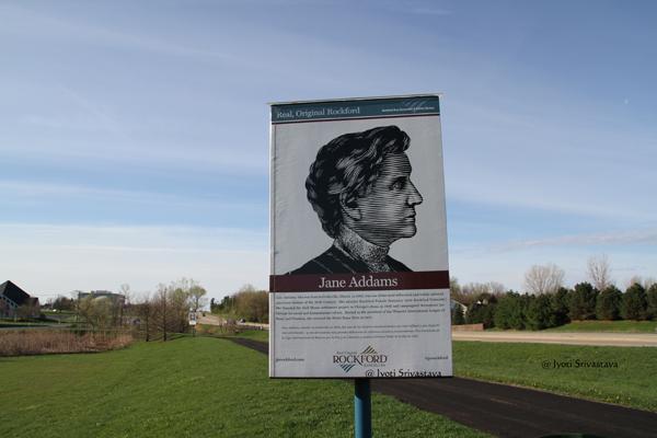 Jane Addams / Real, Original Rockford